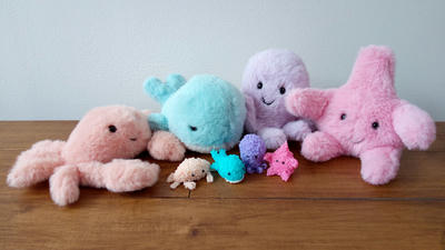 Jellycat sea creatures
